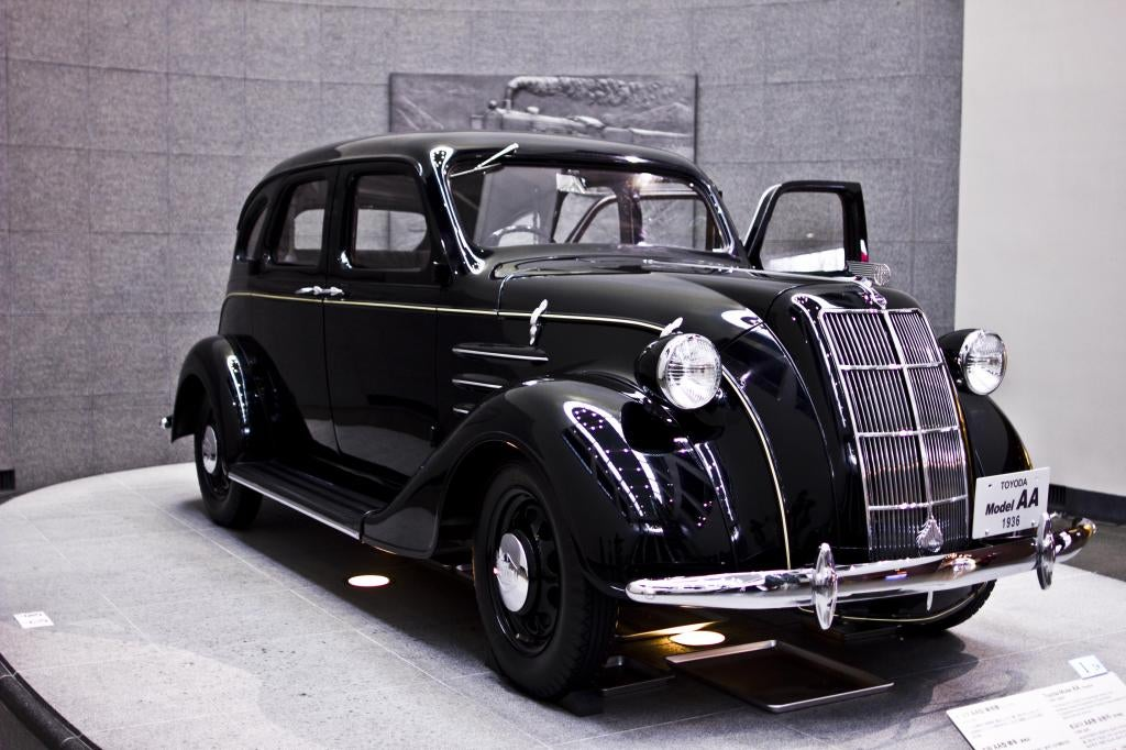 """1936 Toyota AA. This is the first """"mass produced"""" Toyota ..."""