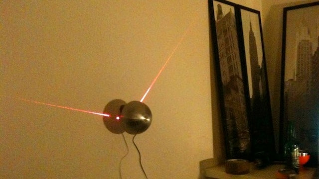 Build Your Own Arduino-Based Laser Clock with a Salad Bowl, Laser Pointers, and Some Spare Time