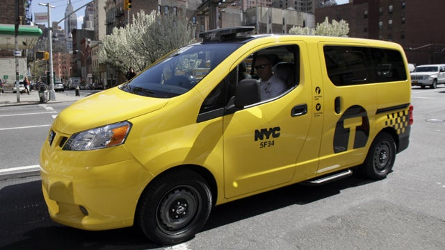 New York's New Minivan Cabs Perfect for Taking Everyone to Soccer Practice