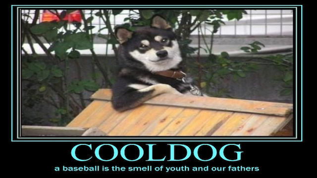 Today In Jose Canseco Tweets As Motivational Posters: Baseball Smells