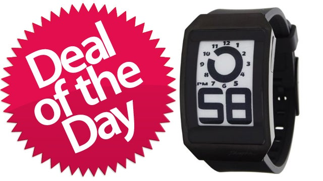 This Phosphor E-Ink Watch Is Your Style-And-Substance Deal of the Day
