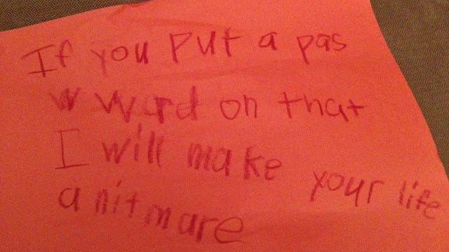 7-Year-Old Girl's Threat to Parents Is Cute In a Psychopath Kind of Way