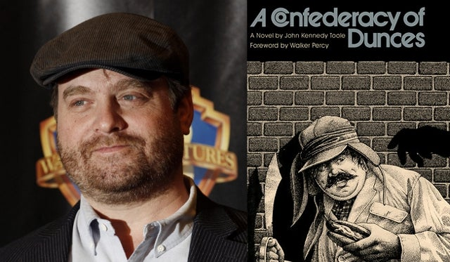 Zach Galifianakis as Ignatius J. Reilly in James Bobin's A Confederacy of Dunces?