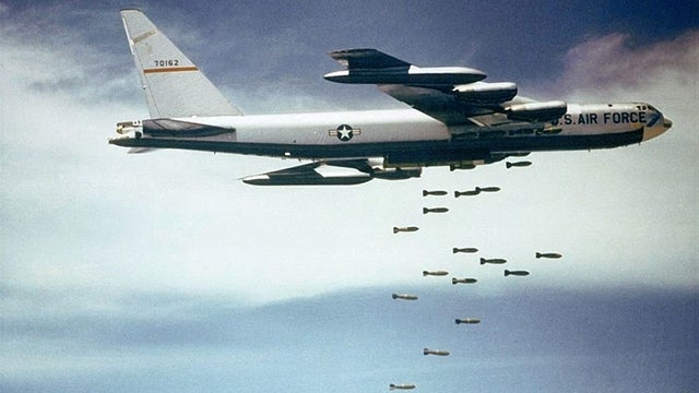 The Pentagon has created a database of every bomb they've dropped since the First World War