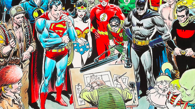 Goodbye Joe Kubert, Comic Book Titan