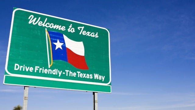 Texas Is Now the Fastest State in the Country