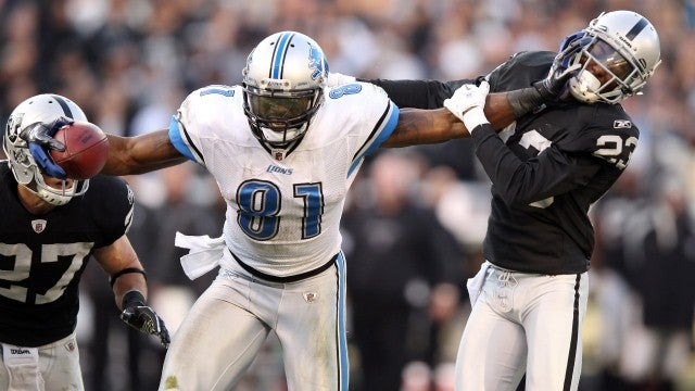 Calvin Johnson Meets Randy Moss: Two Wide Receivers Bigger Than The Game