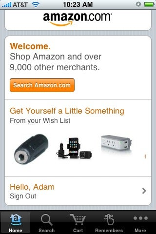 Amazon Mobile Looks Up Any Product You Snap a Picture Of