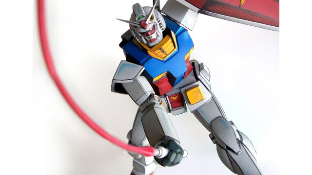 This Gundam Model Looks Right Out Of The Anime. Literally.