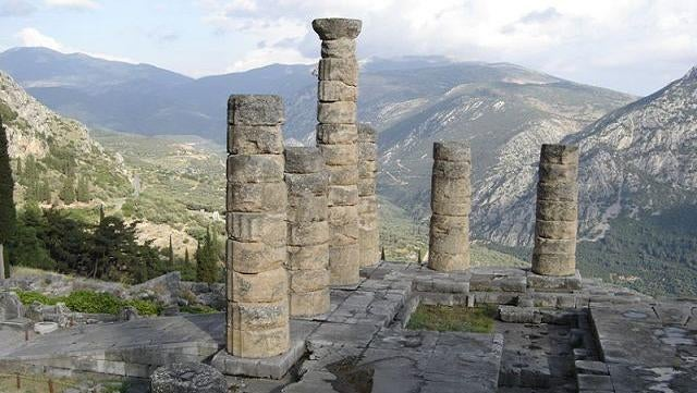 What really caused the Oracle at Delphi to utter mad prophesies?