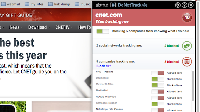 DoNotTrackMe (Formerly Do Not Track Plus) Updates with a Streamlined UI, Still Protects Your Privacy