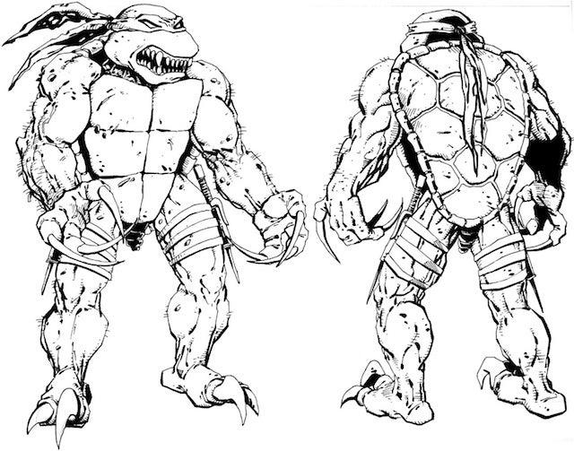 That fourth Ninja Turtles movie could have also given us Super Splinter and Raptor Raphael