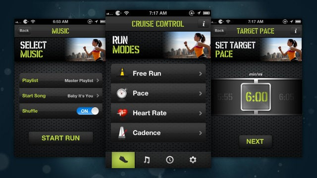 Cruise Control: Run Automatically Matches Music to Your Running Pace