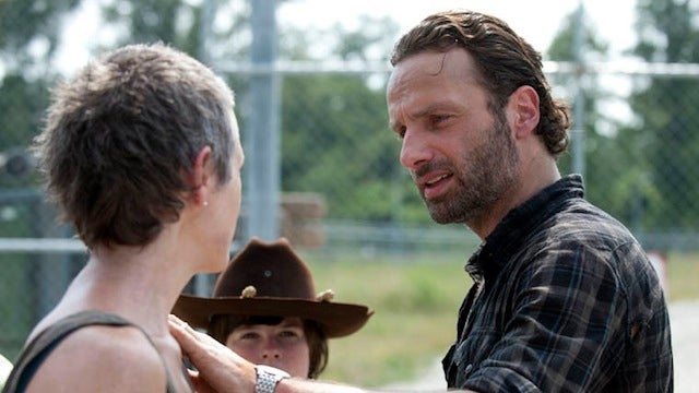 The Walking Dead's mid-season premiere is troubling, but not because of any zombies