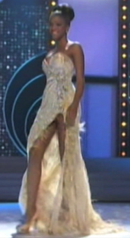 Miss Universe Evening Gowns, For The Classy Crotch Shot