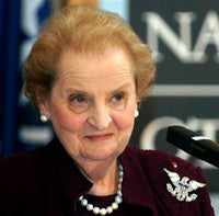 A New Role For Madeleine Albright?