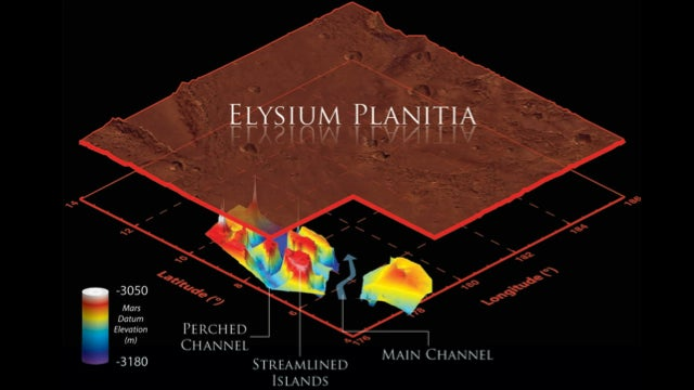 Mars' underground flood channels are much deeper than we thought