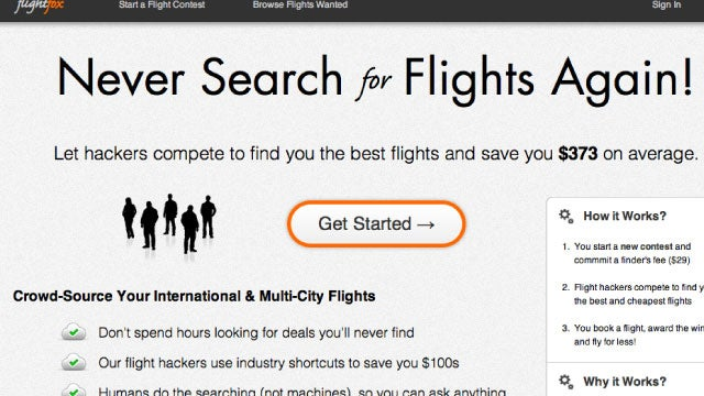 Flightfox Outsources Your Airfare Search to Save You a Ton of Time and Money