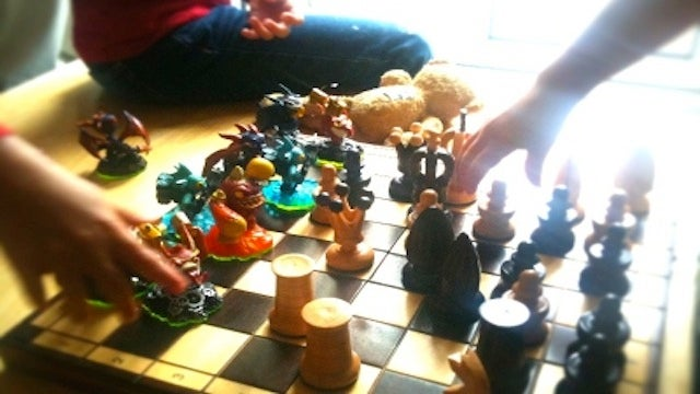 Children Create Skylanders Chess