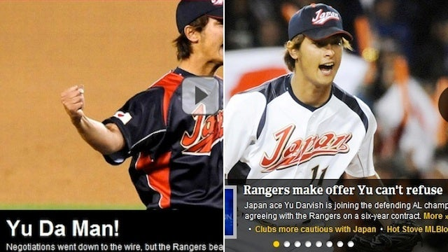 Oh Yu: A Collection Of Awful Yu Darvish Headline Puns