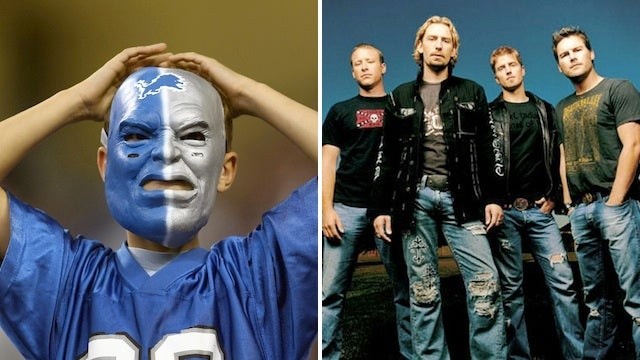 Detroit Lions Fans Are Next To Spearhead An Anti-Nickelback Campaign