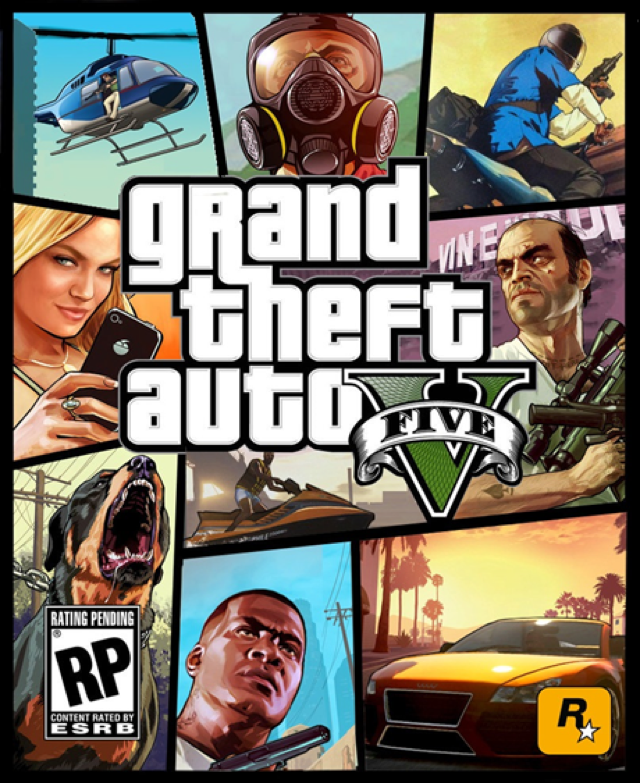Impatient People Make GTA V Box Art [UPDATE]