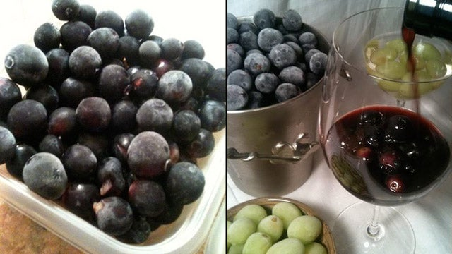 Toss Frozen Grapes in Your Wine to Cool It Down