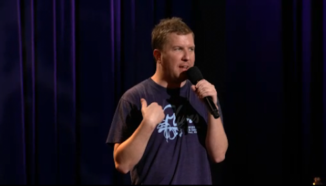 Nick Swardson on Alien-Themed Restaurants