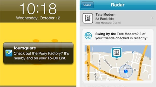 Foursquare's New Radar Feature Is Better Than Find My Friends