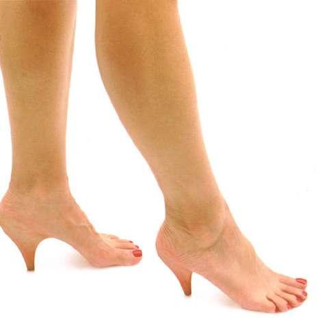 Ступни - каблуки