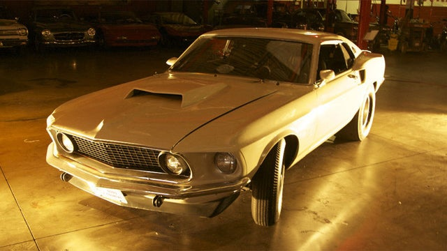 Original and rare 1969 Boss 429 Mustang on Ebay