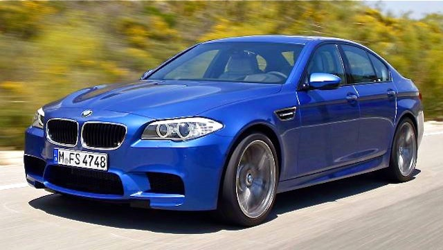 2012 BMW M5: Yes, this is it