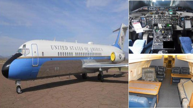 You Can Buy the President's Real Air Force One Airplane