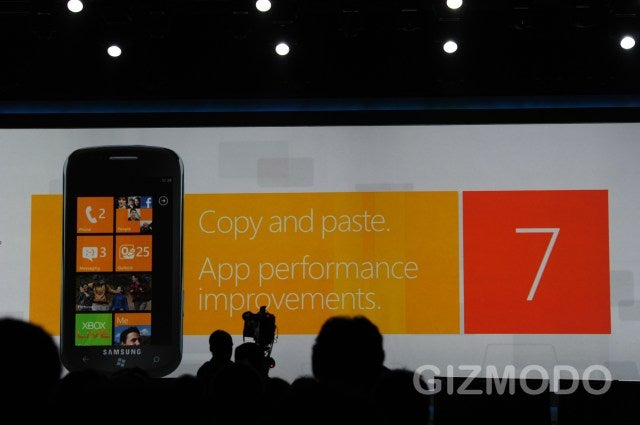 Windows Phone 7 Is Coming to Verizon and Sprint With Copy + Paste and Faster Apps