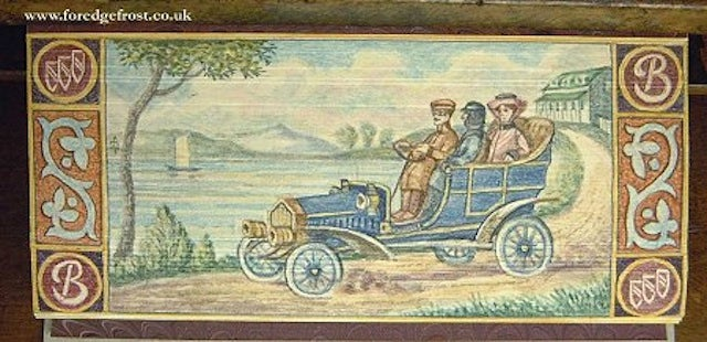 Fore-Edge Paintings: The Secret Works of Art Hidden Inside Book Pages