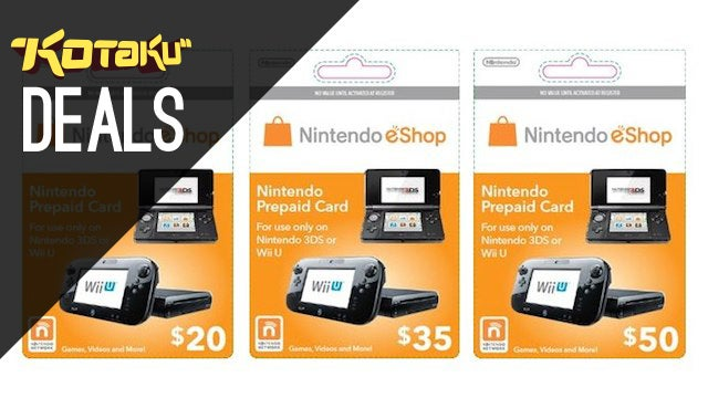 eShop Credit, Deals On The Most Popular Games Of 2013 [Deals]