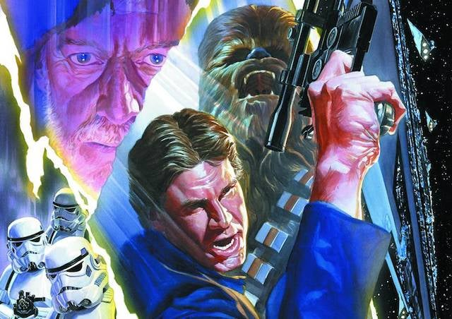 Disney is giving the Star Wars comics license to Marvel in 2015