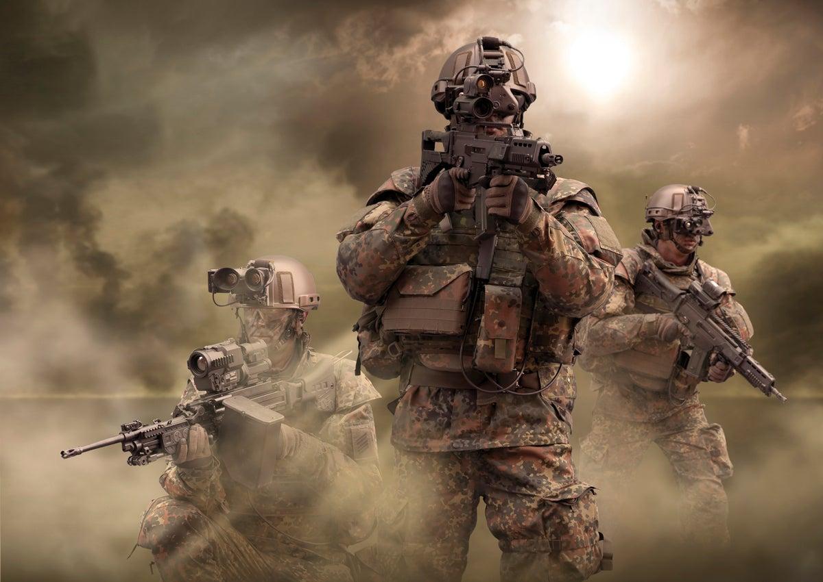 Los soldados del futuro ya están aquí.