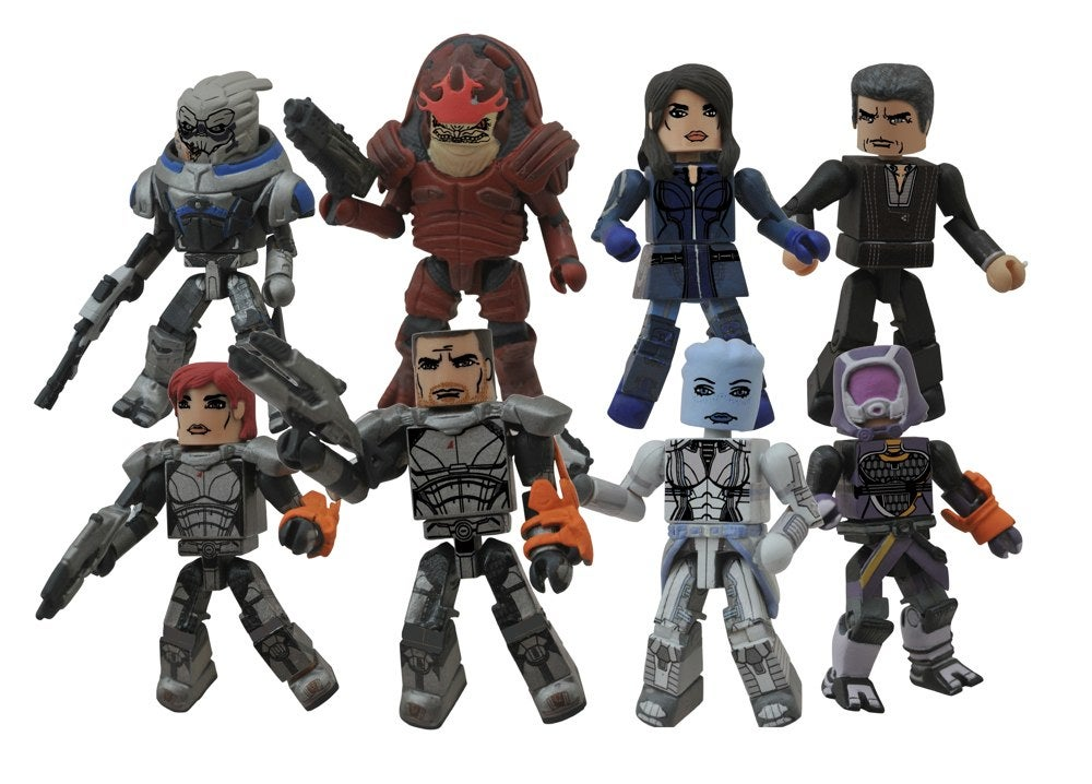 Mass Effect Figures Gamestop Tiny Mass Effect Figures