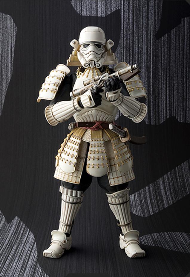 boneco stormtrooper samurai