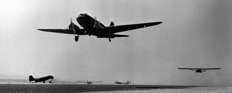 Gliders Towed By C-47