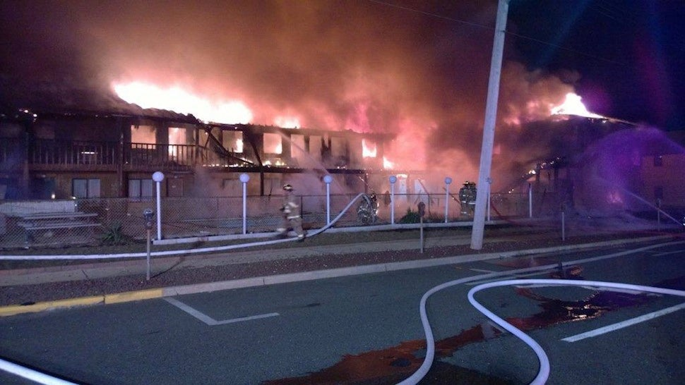 Fire at New Jersey Motel Kills 4, Injures 8