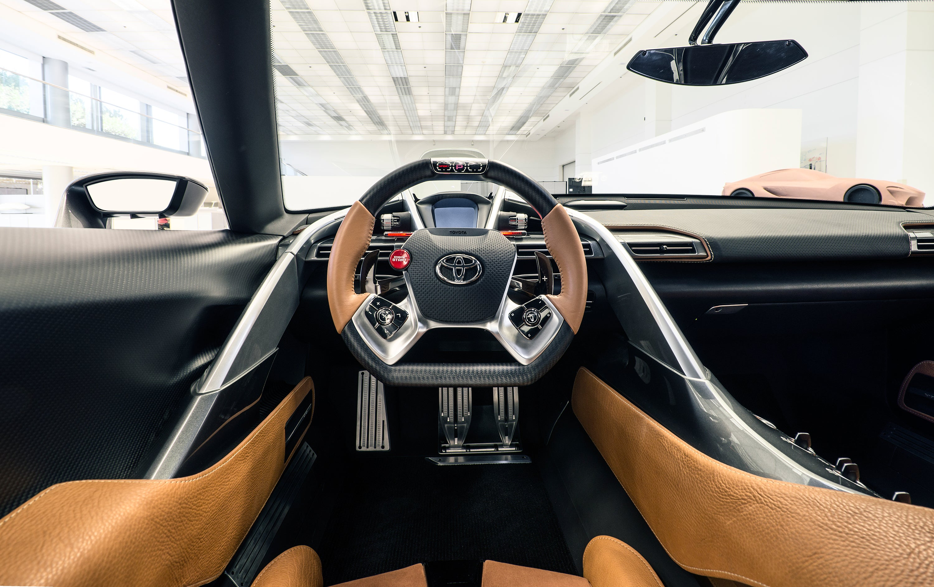 Toyota ft 1 's New Look