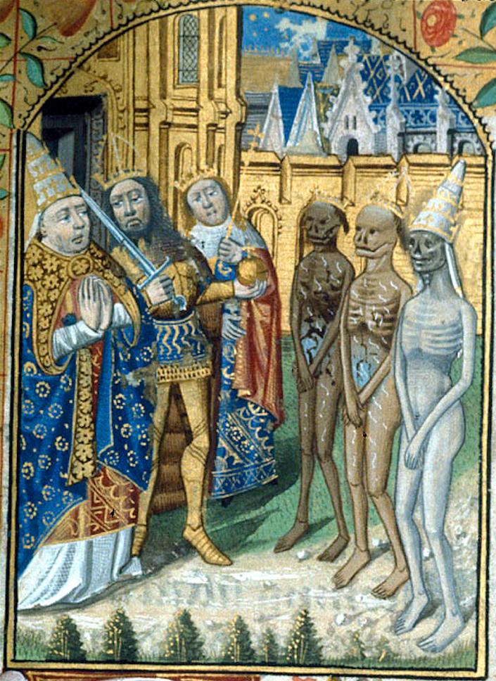 e9xzrgglkhek6mydi90z Středověké rukopisy líčí příběh živých mrtvých