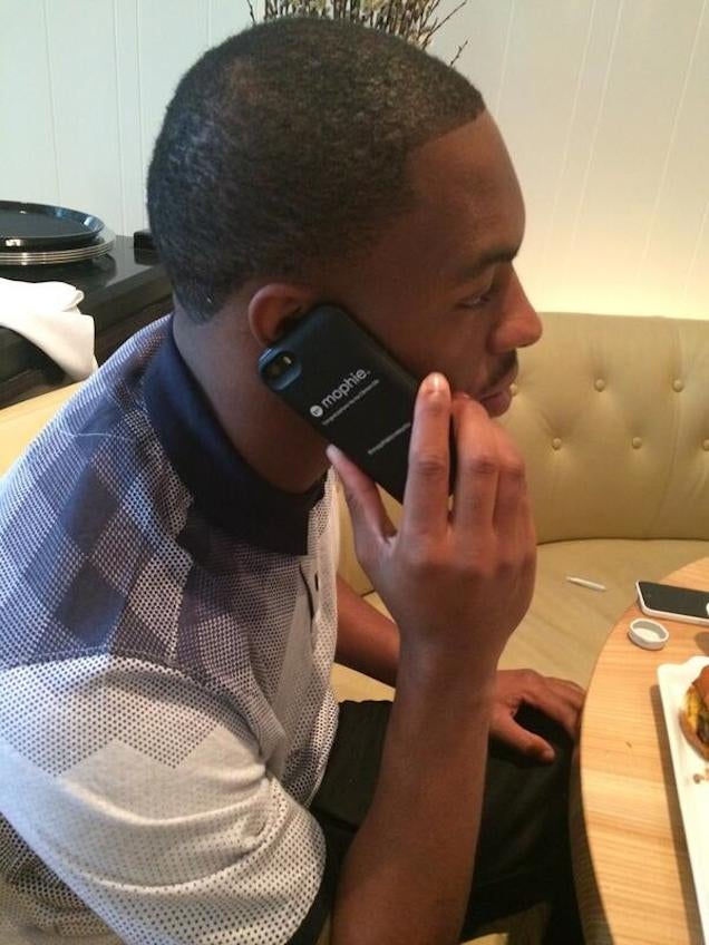 Ha Ha Clinton-Dix Did Not Have A Joint Next To Him Before The D…