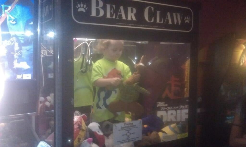 Missing 3-year-old Found Inside Arcade Claw Machine