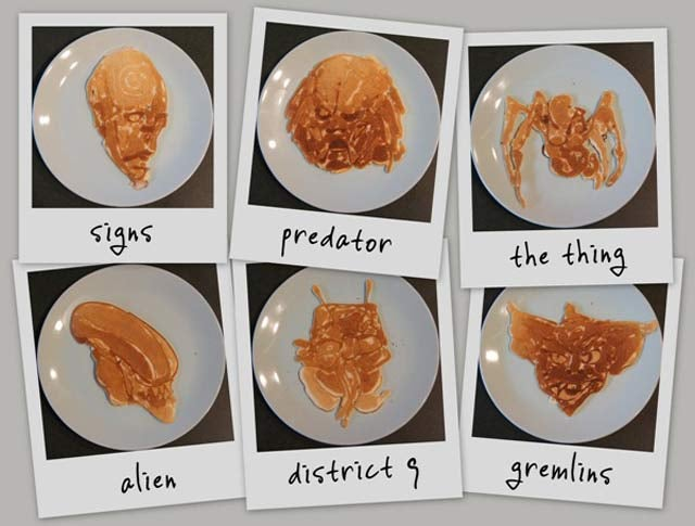 Animals in Unbelievable Detail Drawn Entirely in Pancake Batter