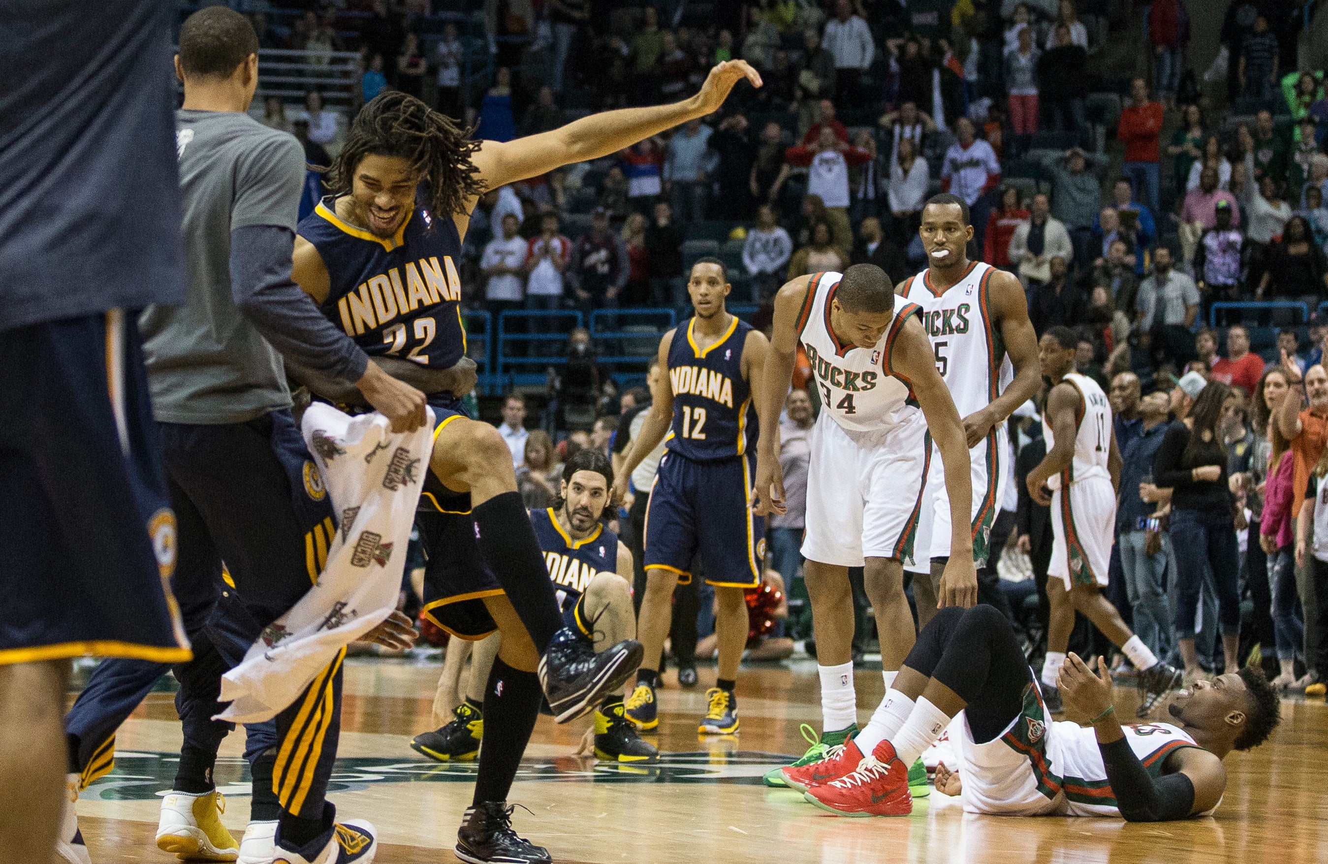 Pacers Bench All Five Starters, Still Beat Bucks