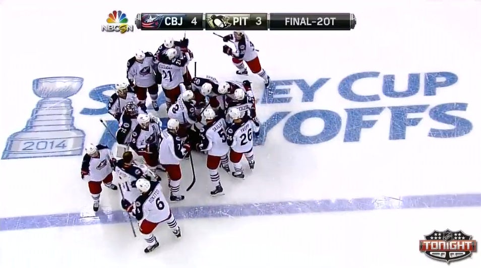 Columbus Blue Jackets Win First Ever Playoff Game In Double Ove…