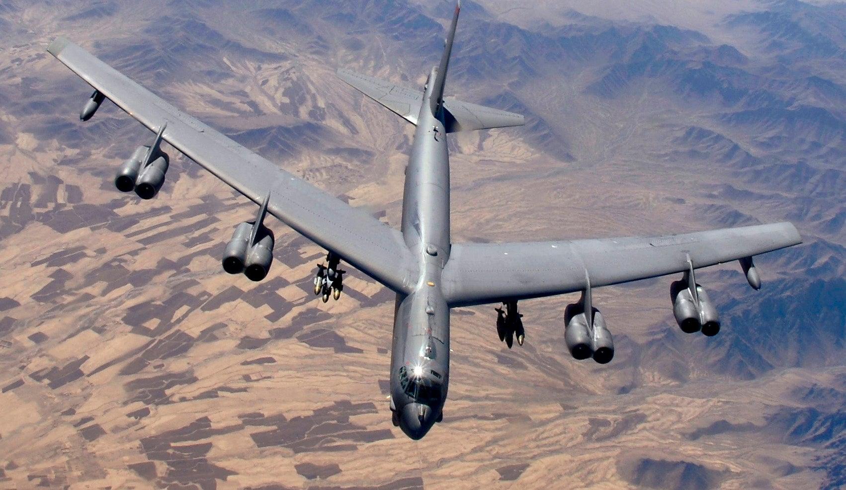 B 52 Re-Engine Its B-52 Fleet